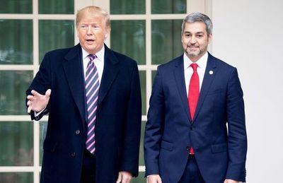 Abdo ha Trump omombaretése comercio bilateral ha seguridad