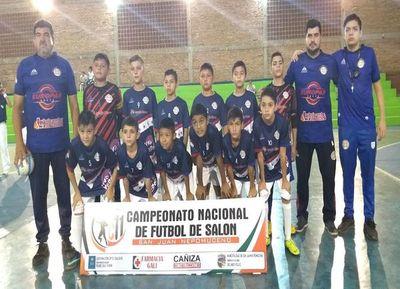 Amambay y Oviedo definen el Nacional C11 de fútbol de salón