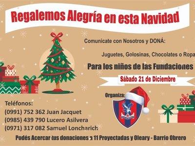 """""""Capital del Sentimiento"""" invita a colaborar para festejar la Navidad con niños de un hogar"""