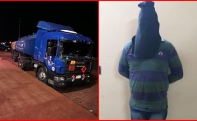 Procesan al único detenido por robo de camión de combustible