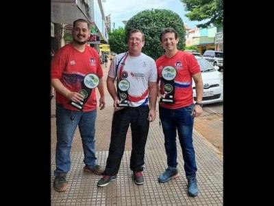 ENCARNACENOS BRILLAN EN SELECCIÓN PARAGUAYA DE PADEL