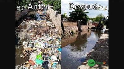 El Arroyo Ferreira se encuentra contaminado