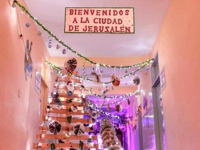 Hospital de Caazapá se convierte en escenario de sensación navideña