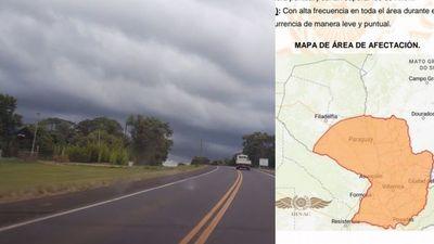 Anuncia alerta meteorológica para Misiones y gran parte del territorio nacional