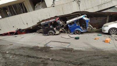 Terremoto de magnitud 6,8 sacude Filipinas