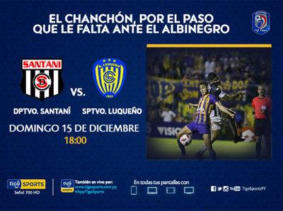 Luqueño mide a Santaní y sueña con la Copa Sudamericana