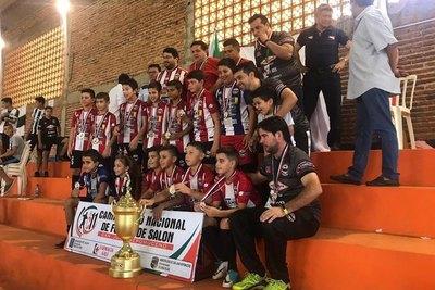 Coronel Oviedo ganó invicto el Nacional C11 de fútbol de salón
