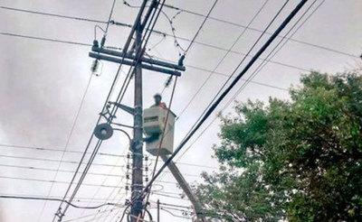 Fuerte temporal causa cortes de luz en Central, Canindeyú, Itapúa y Alto Paraná