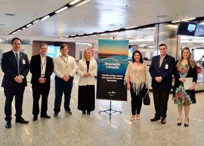 Se habilitó conexión aérea entre Asunción y Brasilia, para mayor flujo de turistas