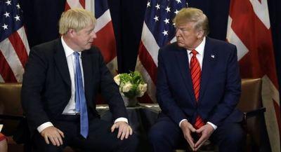 Johnson y Trump abogan por negociar un «ambicioso» acuerdo comercial