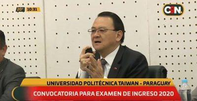 Habilitan cupos para ingresar a la Universidad Politécnica Taiwán-Paraguay