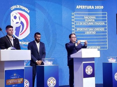 Confirman calendario del torneo Apertura 2020
