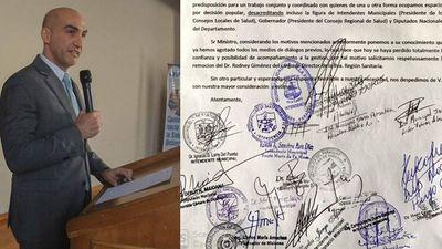 Intendentes, diputados y gobernador piden remoción del director de la Octava Región Sanitaria