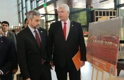 Arnoldo Wiens presentó su balance de gestión al frente del MOPC