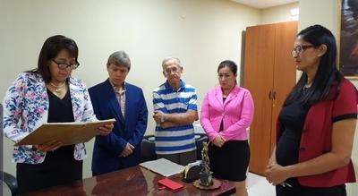 Proclaman a nueva intendente de San Carlos del Apa