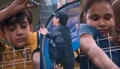 La dura actitud de Maradona con niños que querían verlo