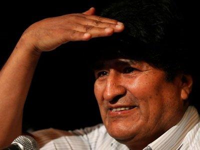Gobierno de Bolivia anuncia  orden de captura contra Evo  Morales