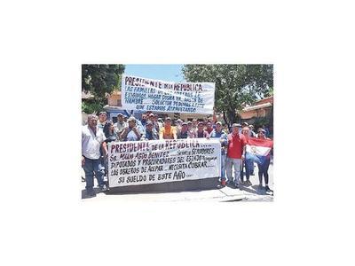 Obreros de Acepar reclaman solución