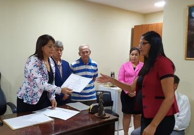 Tribunal Electoral proclama a Intendenta de San Carlos del Apa