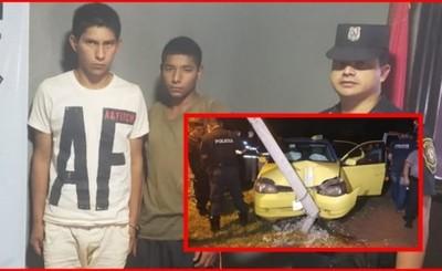 Presuntos asesinos de taxista detenidos en Minga Guazú