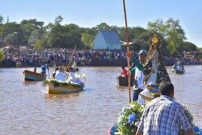 Itapeños honran a su protectora espiritual