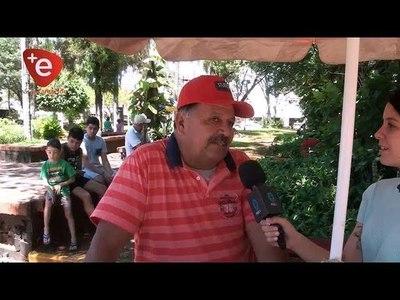 PANCHO COBRA CUMPLE 42 AÑOS DE SERVICIO EN LA PLAZA DE ARMAS DE ENCARNACIÓN