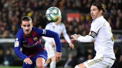 Barcelona y Real Madrid igualan a cero en el derby