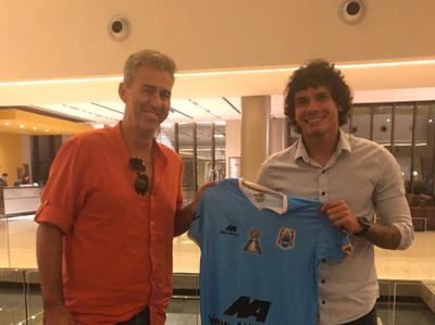 Nery Bareiro es nuevo jugador del Binacional