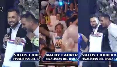 La emoción de Naldy tras consagrase finalista