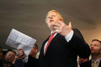 """Johnson promete """"nueva era dorada"""" para el Reino Unido fuera de la UE"""