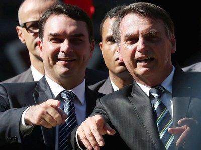 Fiscalía brasileña investiga a hijo de Bolsonaro por lavado de  dinero