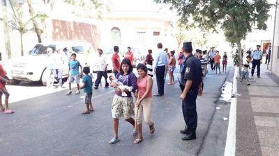 Indígenas cerraron varias calles exigiendo insumos