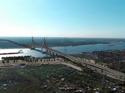 MOPC adjudicó la construcción del Puente Asunción-Chaco'i