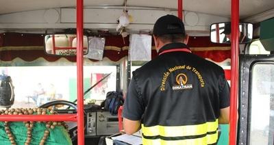 Dinatran libera horario de buses desde hoy por fin de año