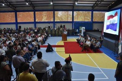 Pagan por becas a casi 700 universitarios de Caazapá