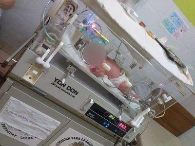 Bebé ya está en terapia intensiva en Coronel Bogado