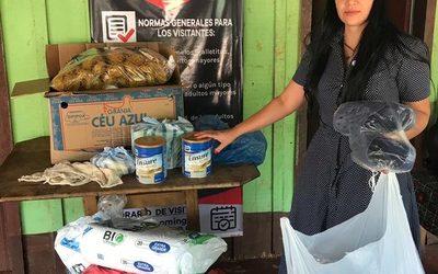 Fiscalía entrega donaciones a hogar de ancianos