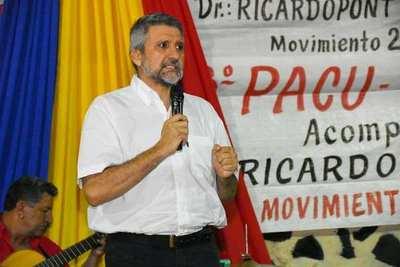 DR. RICARDO PONT BUSCARÁ LA INTENDENCIA DE ENCARNACIÓN POR EL MOVIMIENTO 25 DE MARZO.