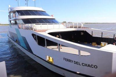 Ferry del Chaco estará en servicio a partir de enero
