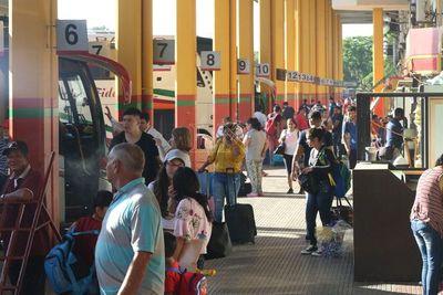 Liberan horario para buses de mediana y larga distancia durante las fiestas