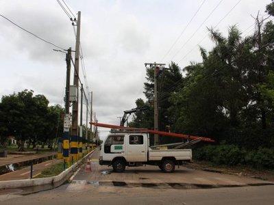 ANDE: Zonas de Asunción y Central aún continúan sin luz