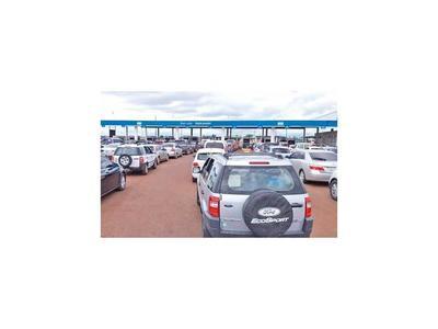 Congestión vehicular de hasta siete horas en cruce fronterizo de Itapúa