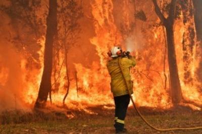 Vientos de más de 80 km por hora y altas temperaturas agravan los incendios en Australia