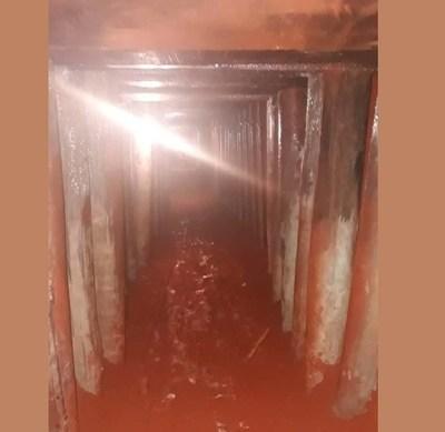 Brasil: Descubren un túnel de 60 metros construido para robar un banco