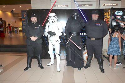 """Avant première de """"Star Wars"""""""