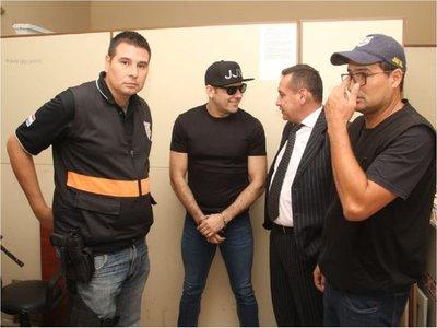 Cucho Cabaña confía en poder salir de la cárcel y aguarda fallo de la jueza