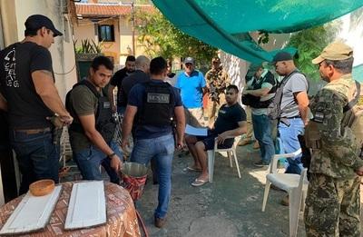 SENAD detuvo a distribuidor de cocaína en el barrio Las Mercedes de Asunción