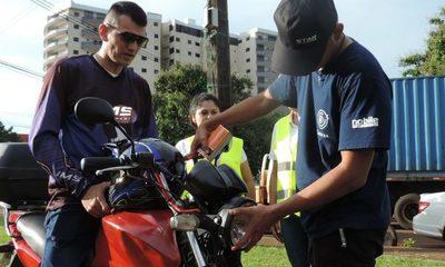 Con campaña de prevención intentan reducir accidentes de tránsito