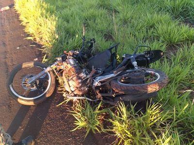 Otro motociclista falleció tras ser embestido por una camioneta en Capitán Bado
