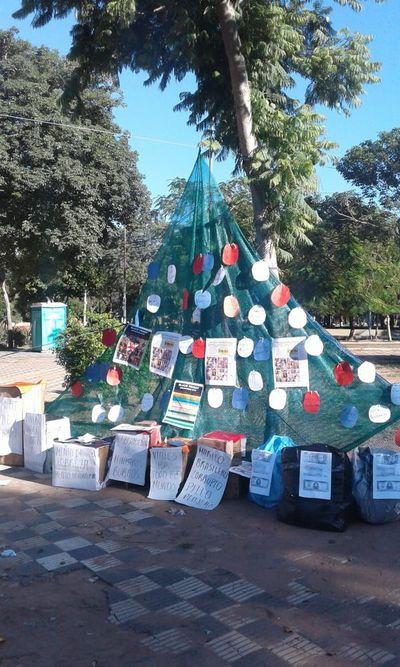 Un árbol de Navidad muy peculiar